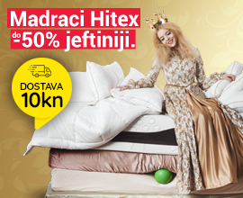 Madraci do -50% + 10 kn dostava!